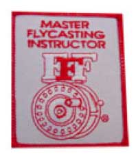 Federation of Flyfishers master certified casting instructor logo