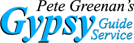 Logo for Pete Greenan's Gypsy Guide Service